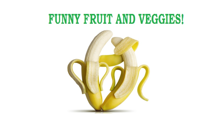 funny fruits and veggies
