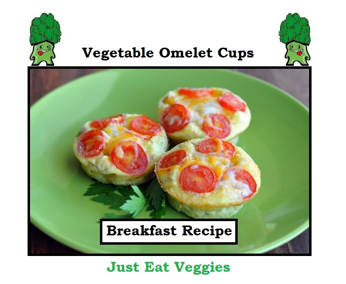 Vegetable Omelet Cups