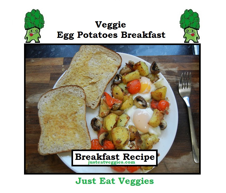 Veggie Egg Potatoes Breakfast