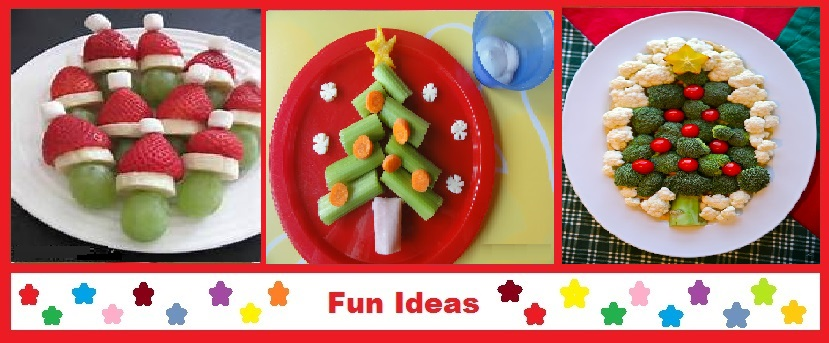 Just Eat Veggies Christmas Holiday Recipes, Fun Ideas