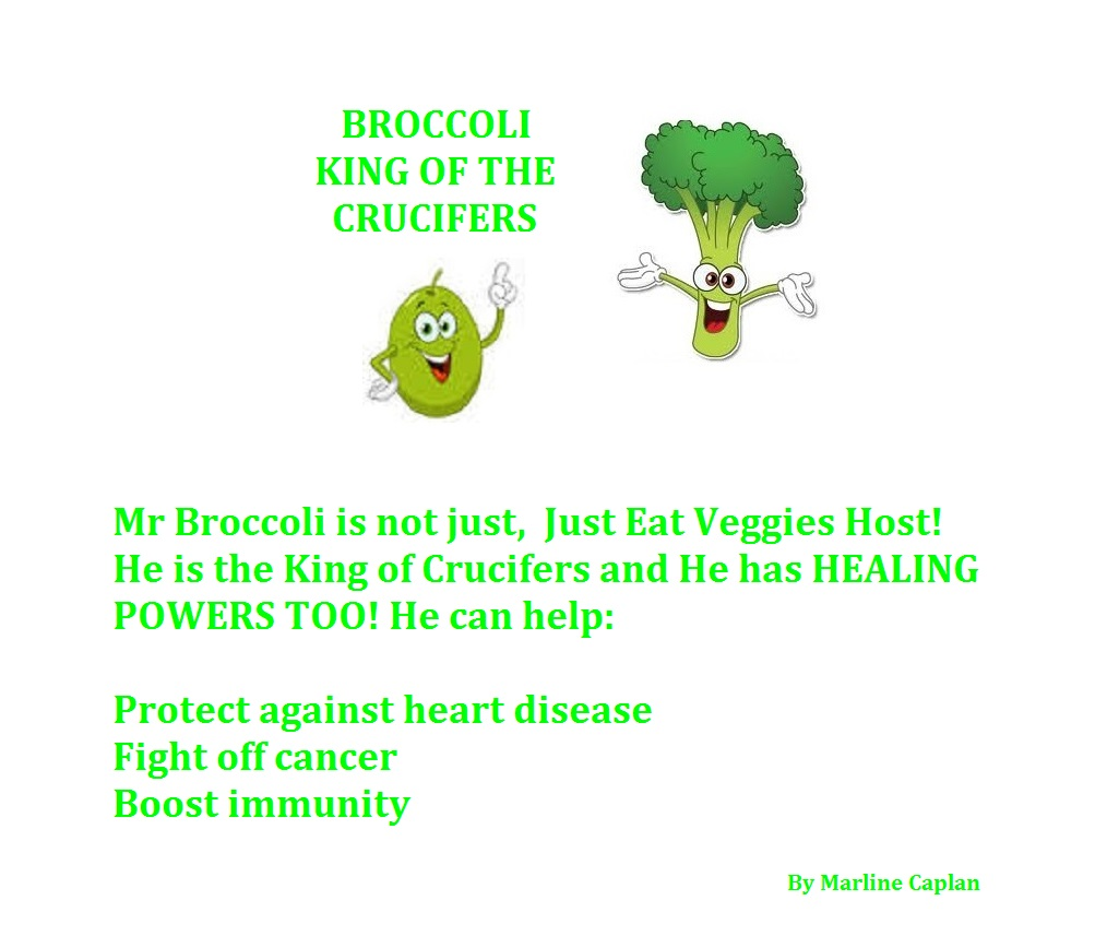 Just Eat Veggies Food Remedies About Broccoli