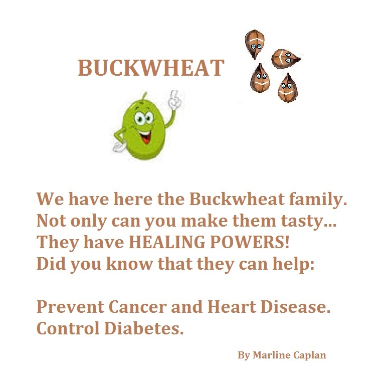 Just Eat Veggies Food Remedies About Buckwheat