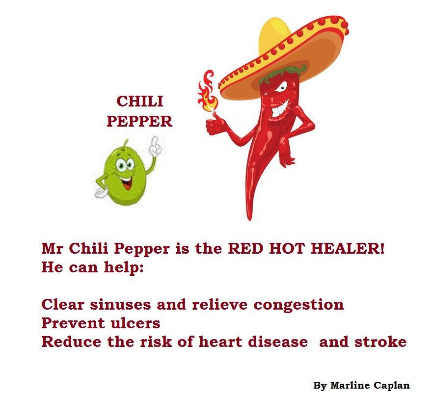 Just Eat Veggies Food Remedies About Chili Pepper
