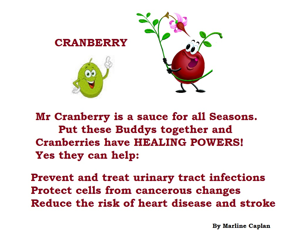 Just Eat Veggies Food Remedies About Cranberry