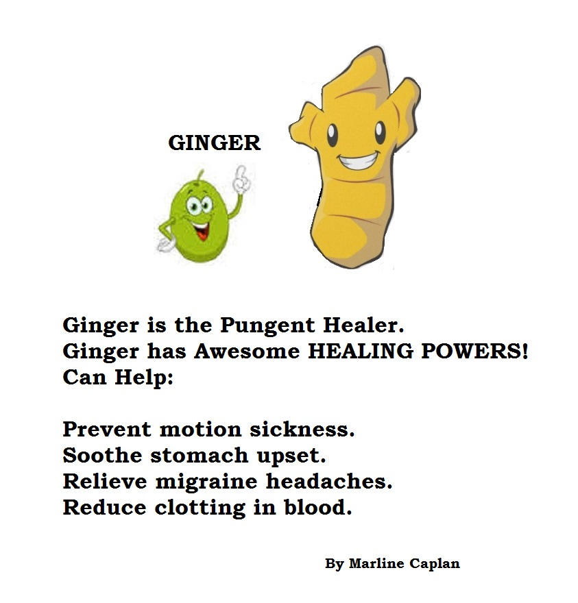 Just Eat Veggies Food Remedies About Ginger