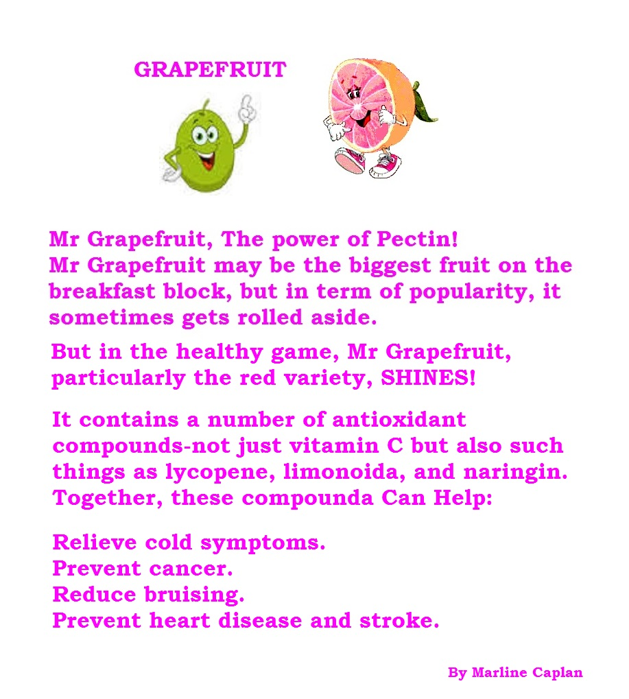 Just Eat Veggies Food Remedies About Grapefruit