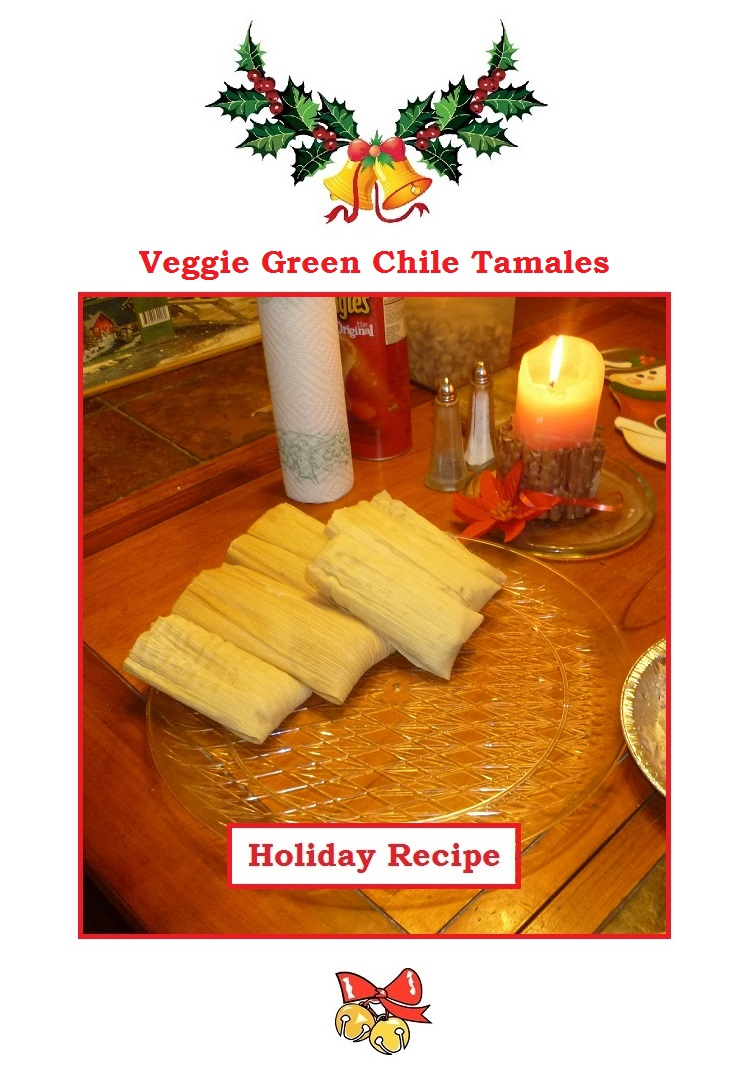 Veggie Green Chile Tamales
