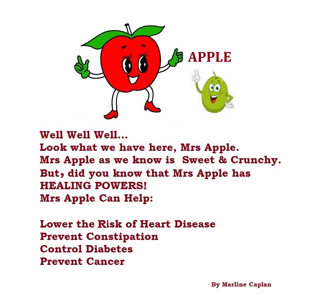 Just Eat Veggies Food Remedies About Apple