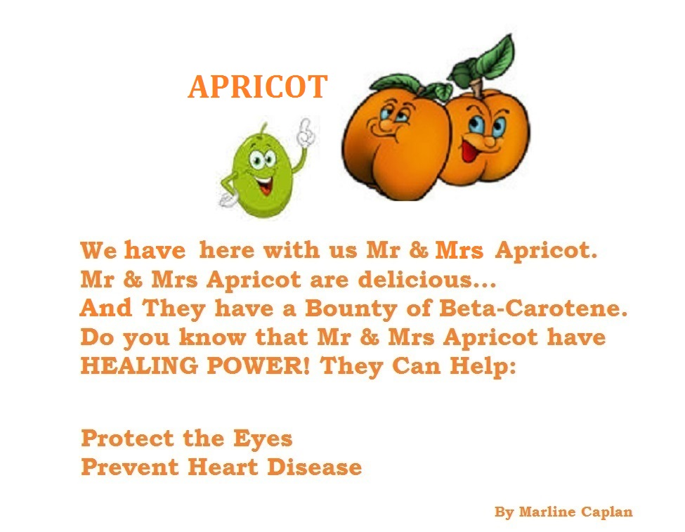 Just Eat Veggies Food Remedies About Apricot