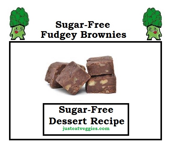 just eat veggies Sugar-Free Fudgey Brownies