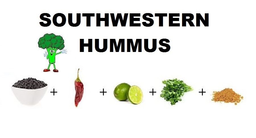 Just Eat Veggies Dip Recipes Southwestern Hummus