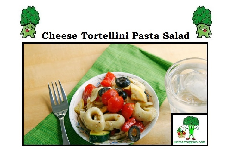 Just Eat Veggies Salad's Cheese Tortellini Pasta Salad
