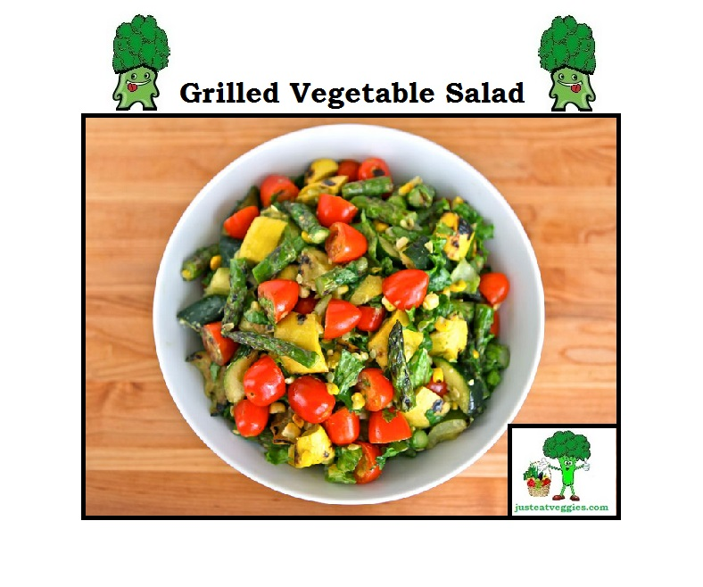 Just Eat Veggies Salad's Grilled Vegetable Salad