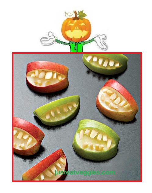 Just Eat Veggies Halloween Recpes