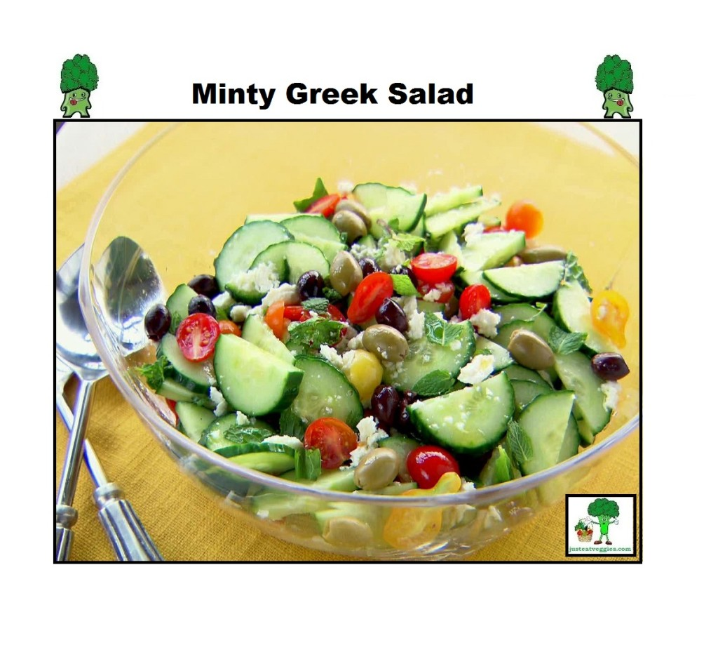 Just Eat Veggies Salad's Minty Greek Salad