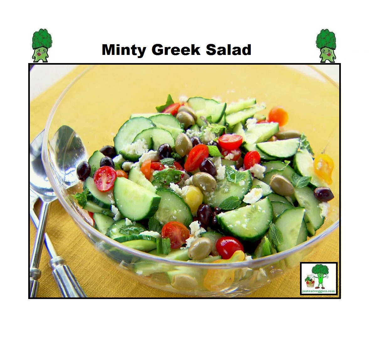 Minty Greek Salad