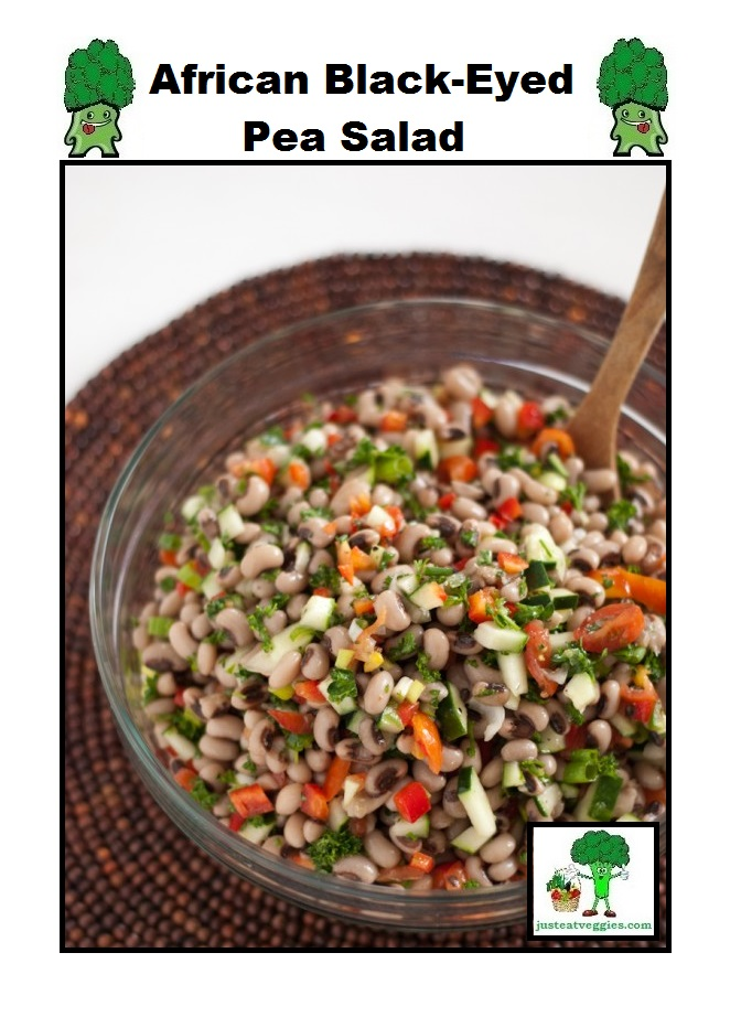 Just Eat Veggies Salad's African Black-Eyed Pea Salad