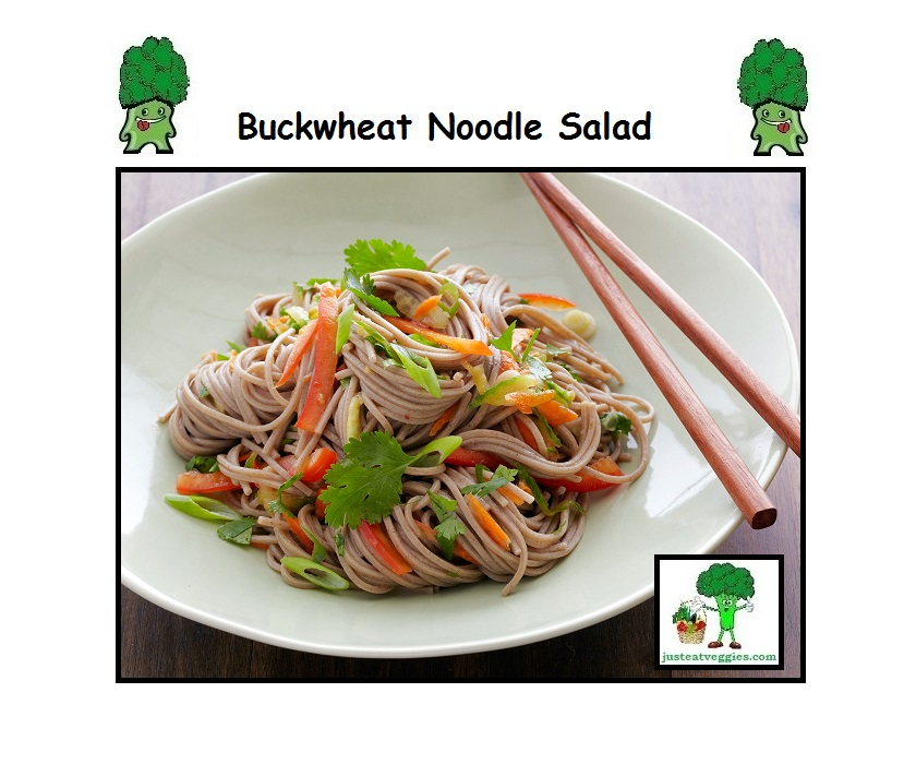 Just Eat Veggies Buckwheat Noodle Salad